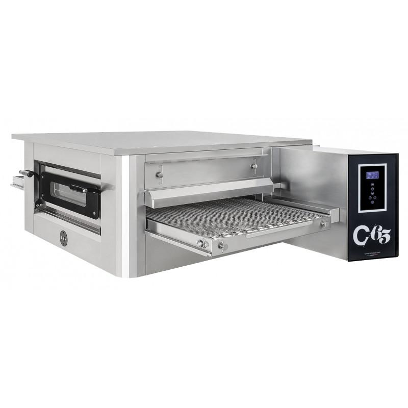 Four convoyeur électrique pizza pain pâtisserie 75 pizzas de Ø 30 cm par heure