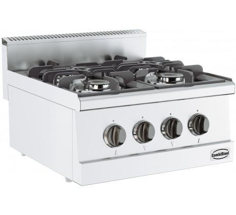 Cuisinière a gaz 4 feux SERIE 600