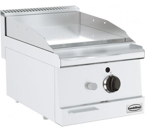 Plaque grill a gaz chrome SERIE