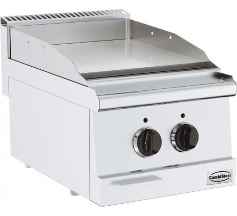 Plaque grill électrique lisse  SERIE 600