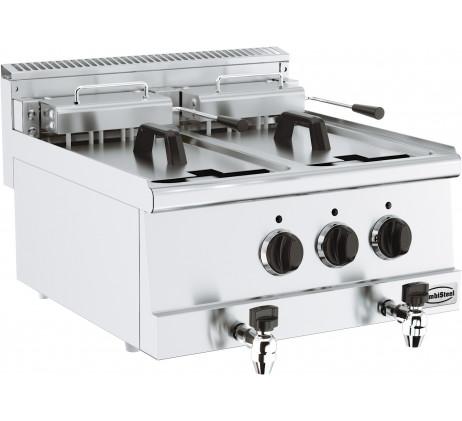 Friteuse électrique 2X10 L