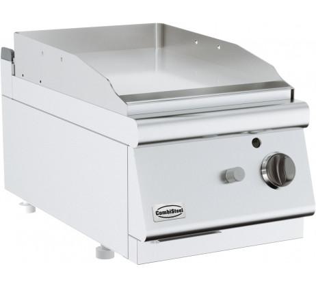 Plaque grill a gaz lisse  SERIE 700