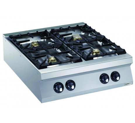 Cuisinière a gaz 4 feux 4x10 KW SERIE 900