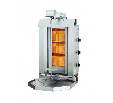 Machine à kebab pita gyros 3 feux