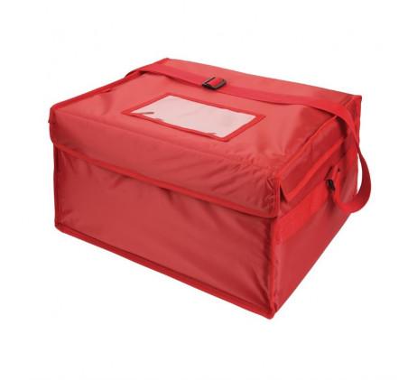 Grand sac de livraison pizza isotherme en nylon...