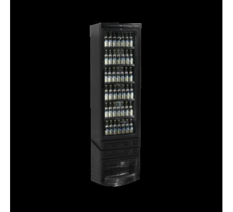 Réfrigérateur à boissons noir une porte 347L