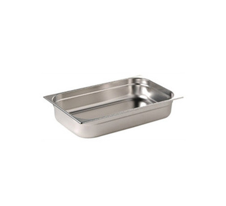 Bacs inox Gastronorme GN 1/1 - Profondeur 150 mm