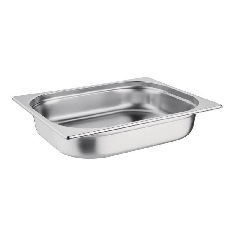 Bacs inox Gastronorme GN 1/2 P/20mm/40mm/65mm/100mm/150mm/200mm