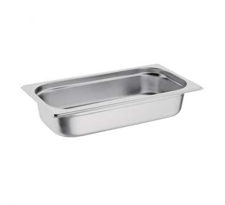Bacs inox Gastronorme GN 1/3 - Profondeur 20 mm