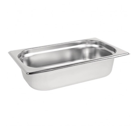 Bacs inox Gastronorme GN 1/4 -...