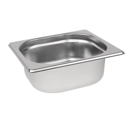 Bacs inox Gastronorme GN 1/6 -...