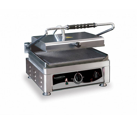 Grand grill panini Large Rainuré510x500 mm