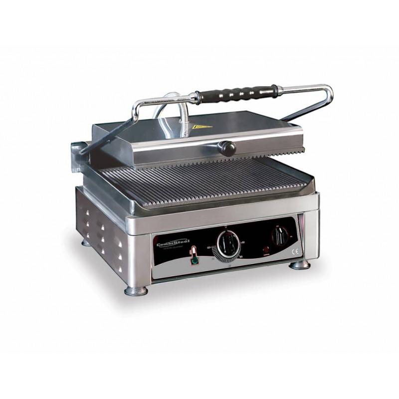 Grand grill panini Large Rainuré510x500 mm
