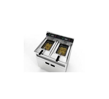 Friteuse électriques 2x12l 2x6kw